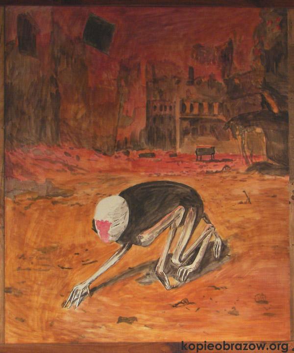 Kopia Obrazu Beksińskiego Kopie Obrazów Olejnych