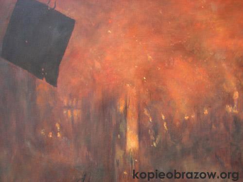 ogień miasto beksińskiego