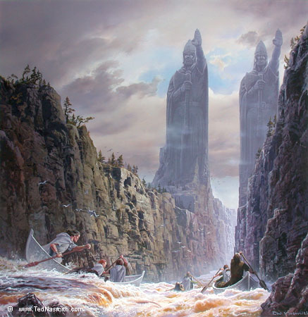 Ted Nasmith The Argonath