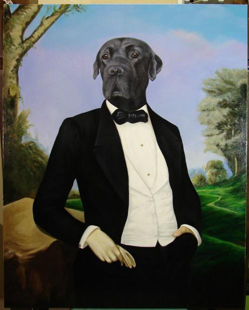 portret psa na zamówienie