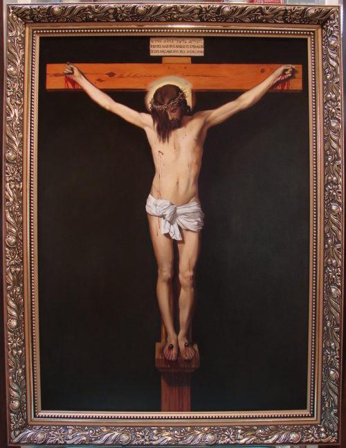 Diego Velazquez - Chrystus ukrzyżowany kopia