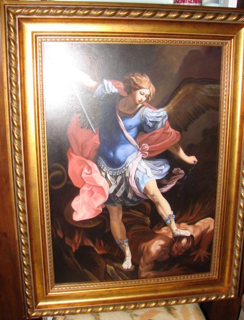 Guido Reni - Św. Michał Archanioł kopia obrazu