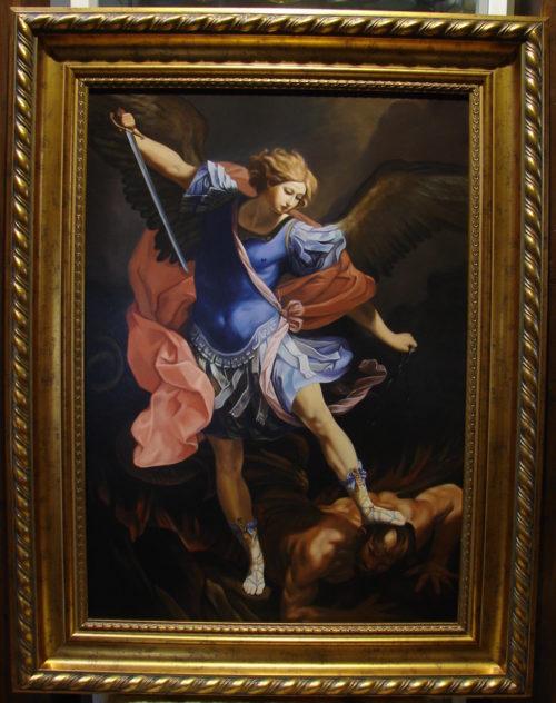 Guido Reni - Michał Archanioł obraz
