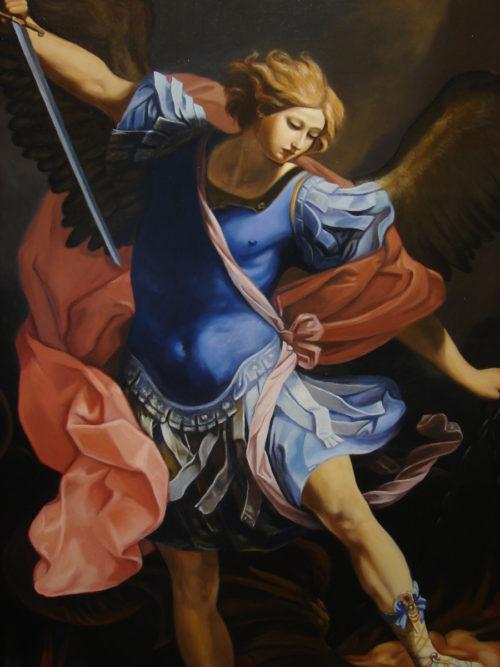 Guido Reni - Św. Michał Archanioł obraz na zamówienie