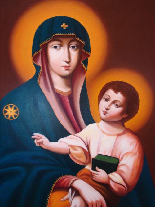 Matka Boska Śnieżna obraz reprodukcja